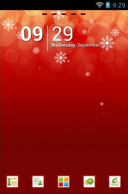 android theme 'Only Christmas'