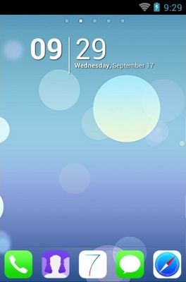 android theme 'Ios7'
