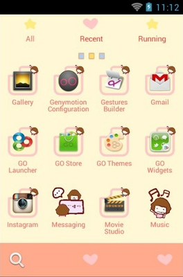 Zexpression android theme application menu