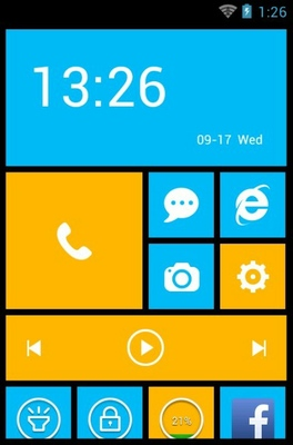 Win8 android theme