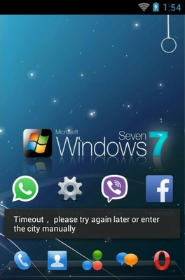 Windows android theme home screen