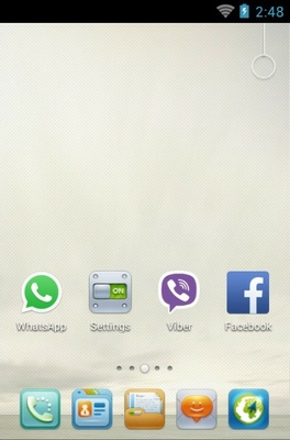 2013 android theme home screen