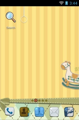 android theme 'Wooden Horse'