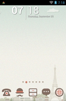 Paris tower theme pink love free download of android version   m.
