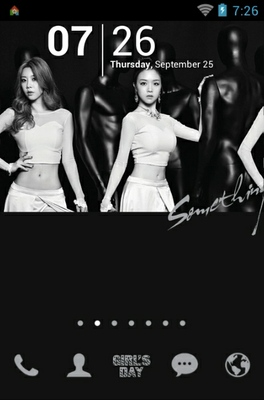 android theme 'Girls Day'