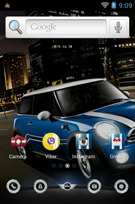 android theme 'BMW Mini'