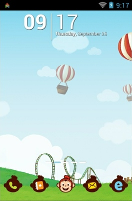 android theme 'Cocomong'