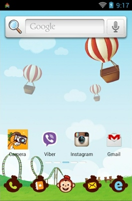Cocomong android theme