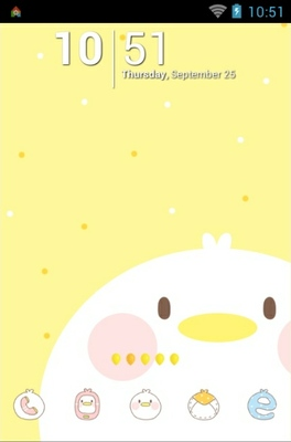 android theme 'Chick'