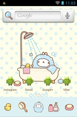 android theme 'Molrang bath'