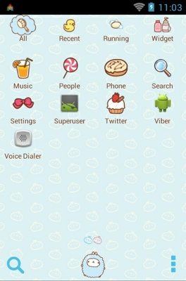 Molrang bath android theme application menu