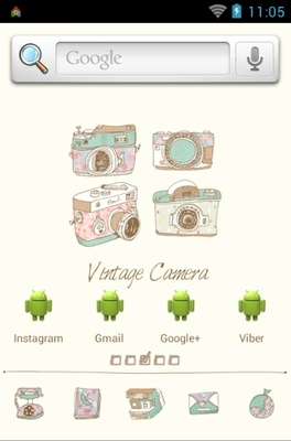 android theme 'Camera'