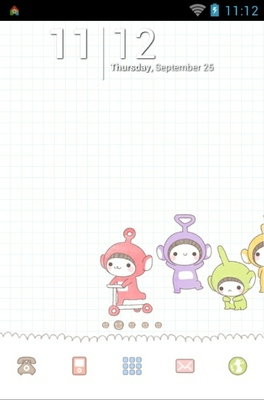 android theme 'Bebe Toby'