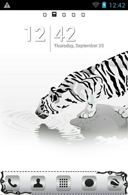 android theme 'Tiger'