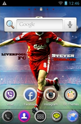 Steven Garrerd android theme home screen