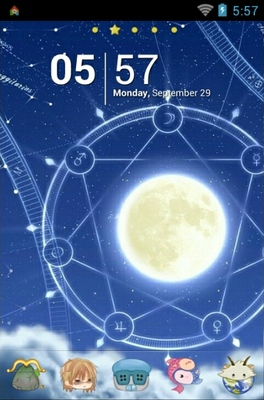 android theme 'Signs Of The Zodiac'