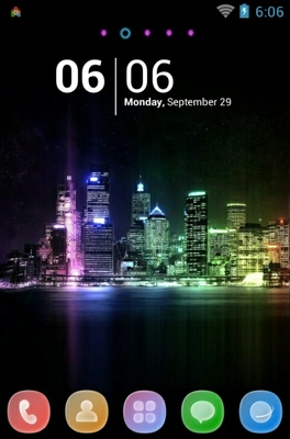 android theme 'Citylights'