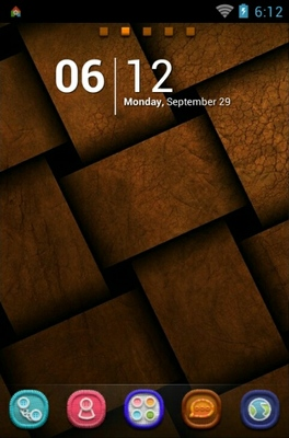 android theme 'Old Brown'