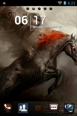 android theme 'Unicorn'