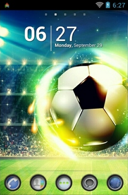 Football android theme