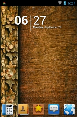 android theme 'Wood Pattern'