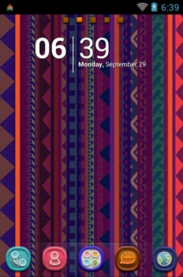 android theme 'Aztec'