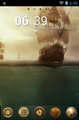 android theme 'Pirates'