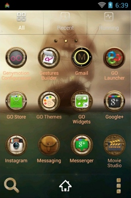 Pirates android theme application menu