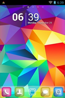 Geometrical Abstract android theme