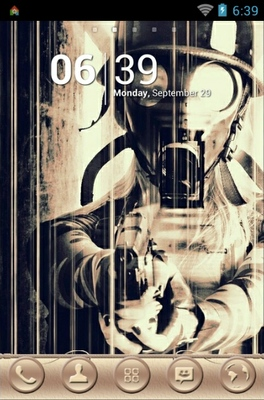 android theme 'Gas Mask'