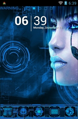 android theme 'Cyber Punk'