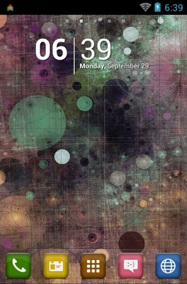 Dots Circle Colorful android theme