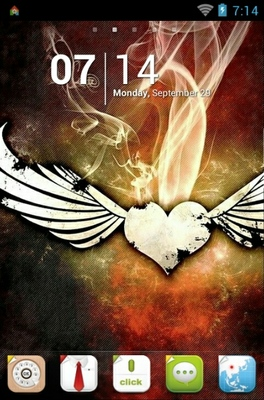 android theme 'Wings'