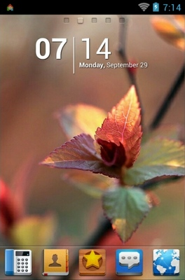 Spring android theme