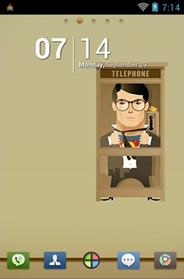 android theme 'Superman'