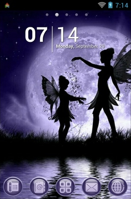 android theme 'Fairy Sisters'