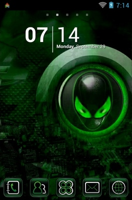 Alien android theme