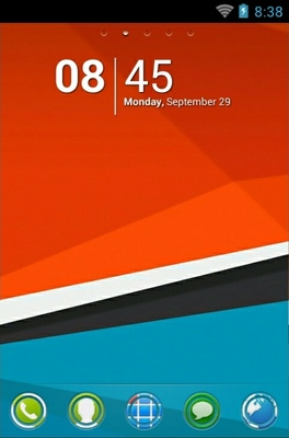 android theme 'HTC Sensation'