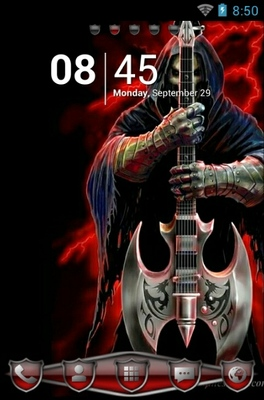 android theme 'Anne Stokes: Rock God'