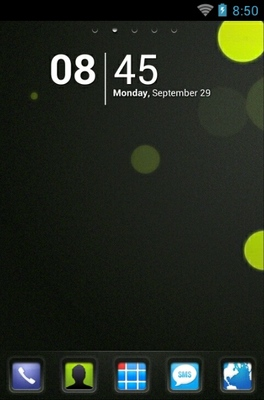 android theme 'VBubbles HD'