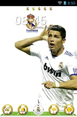 android theme 'Real Madrid'
