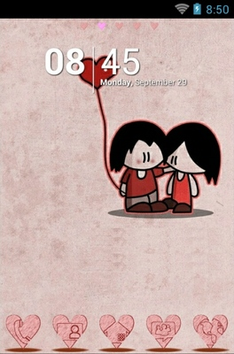 android theme 'First Love'