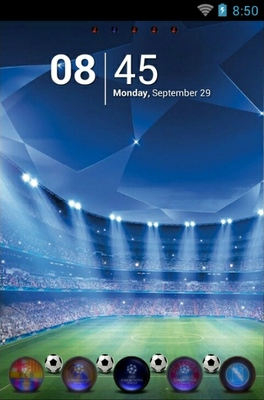 android theme 'Uefa Champions Leaugue'