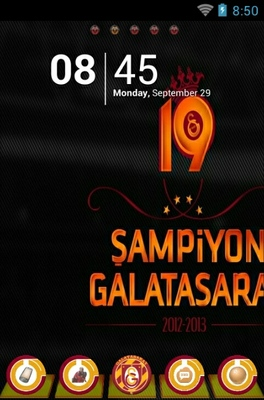Galatasaray Sk android theme