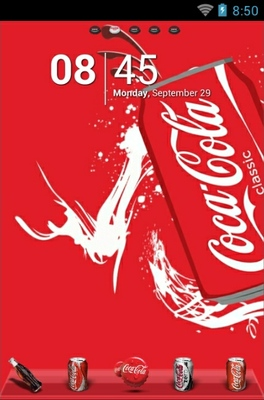 android theme 'Coke World'