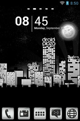 android theme 'Droid City'