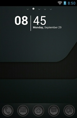 android theme 'Carbon Android'