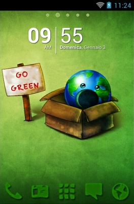 android theme 'Go Green'