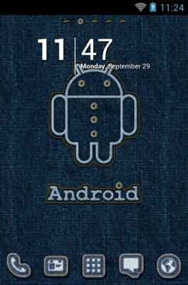 android theme 'Android Stitch'