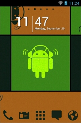 Droid Music android theme